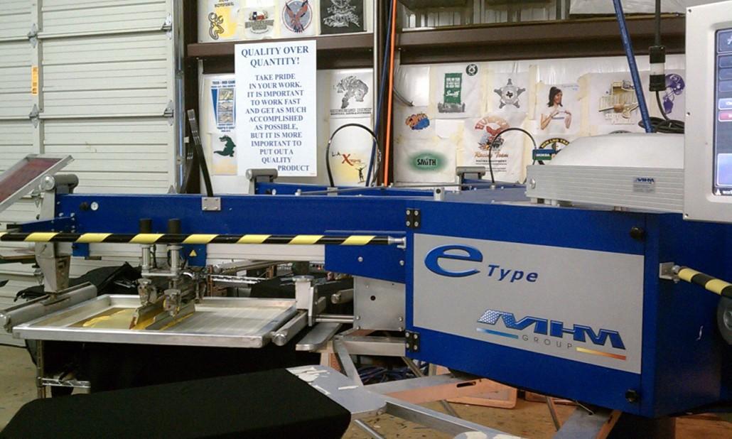 Ace t shirts custom screen printing for T shirt printing pasadena tx