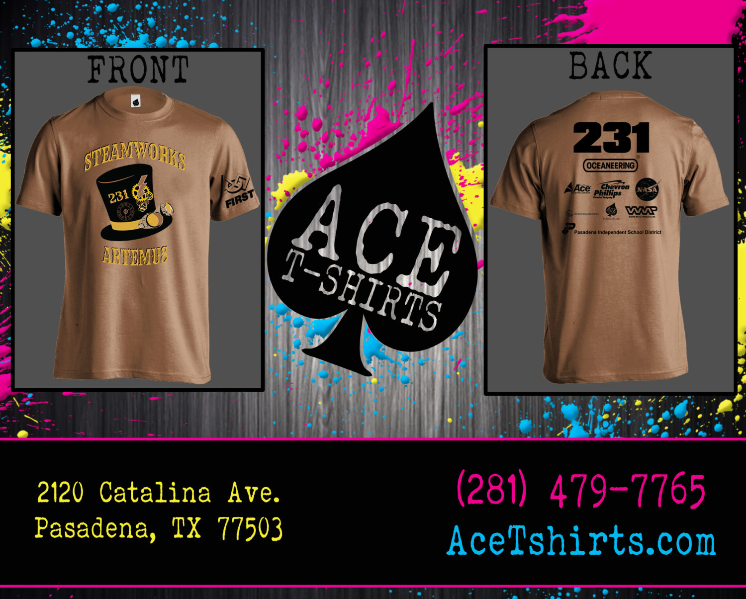Team 231 Competition Shirt Ace T Shirts