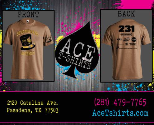 ace tshirts screen printing
